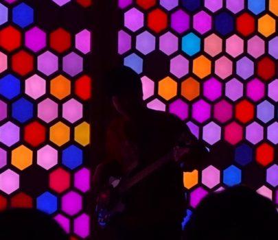 徳島大学常三島キャンパス「LEDライブ演奏2018」